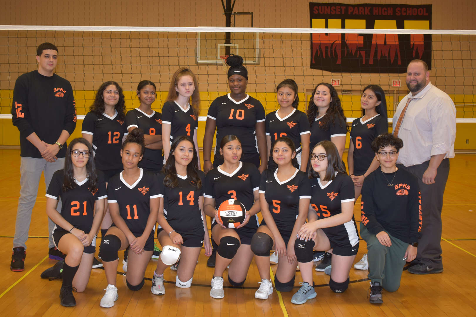 2019-2020 Girls Volleyball Team