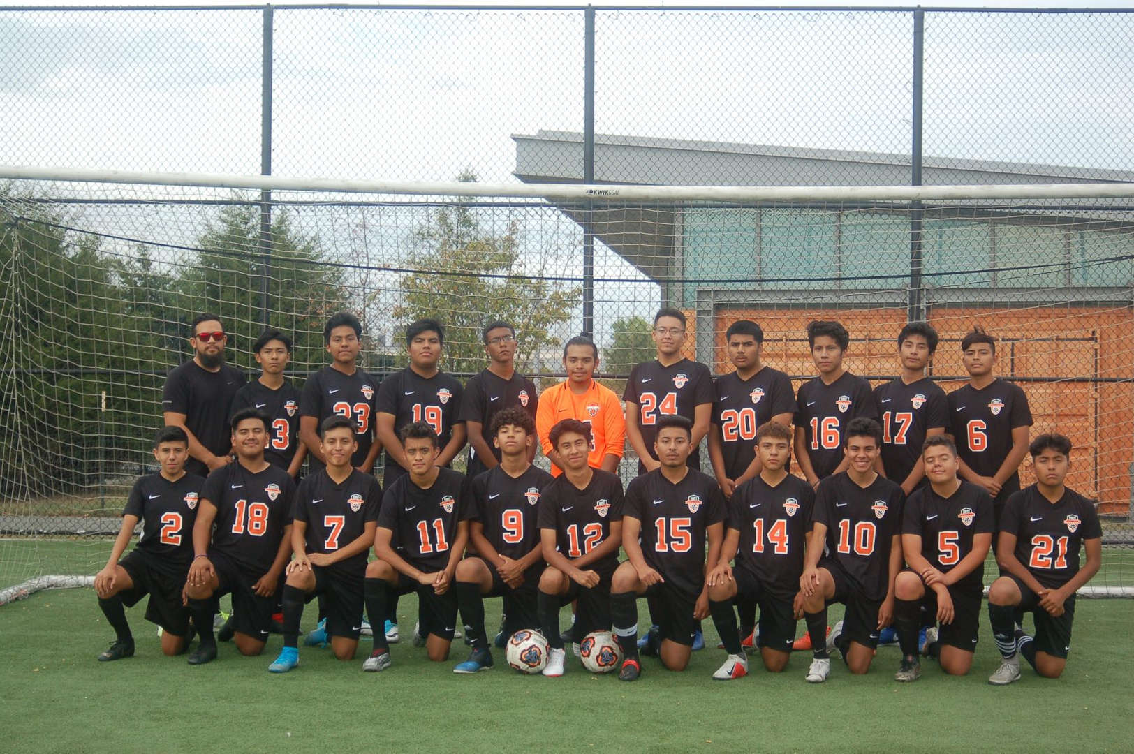 2019-2020 Boys Soccer Team