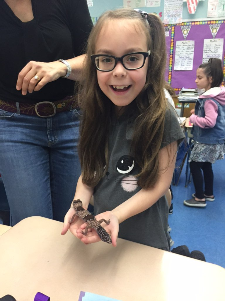 Fun with Mrs. Myers and her friends more Lizards