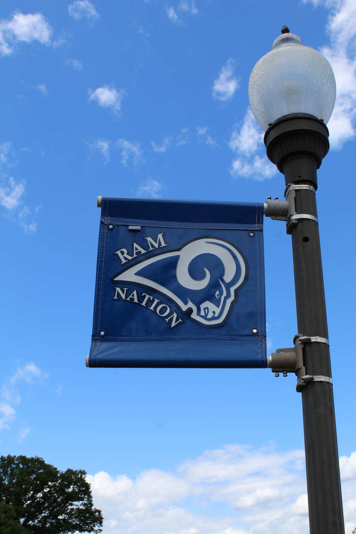 Rams Nation banner