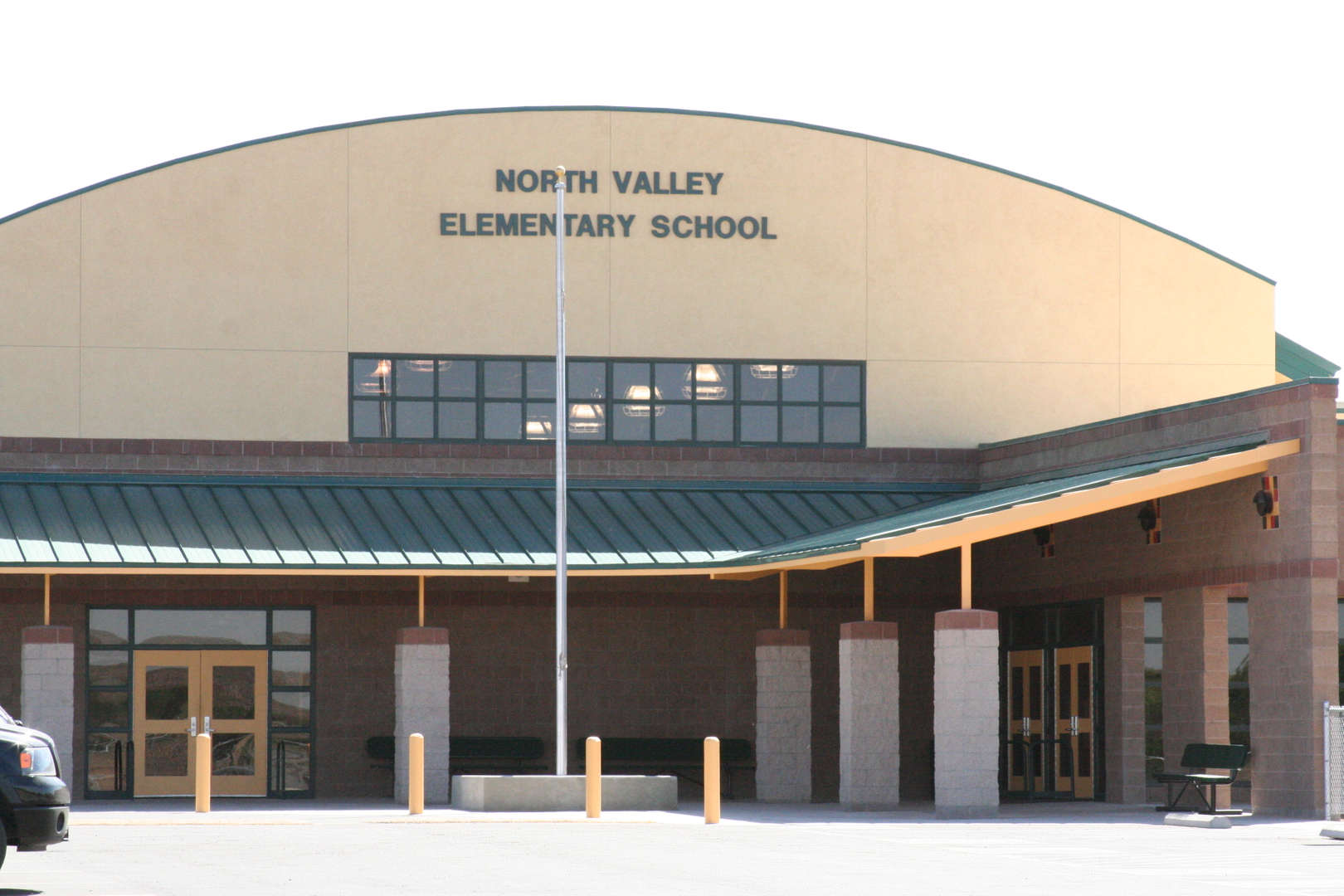 North Valley Elementary front fascade