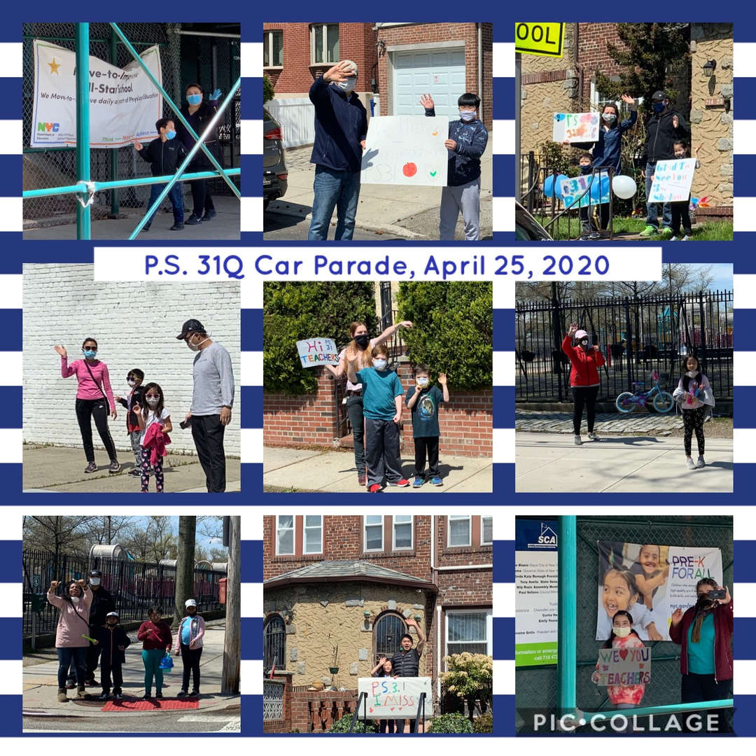 Car Parade Collage 4 of 4