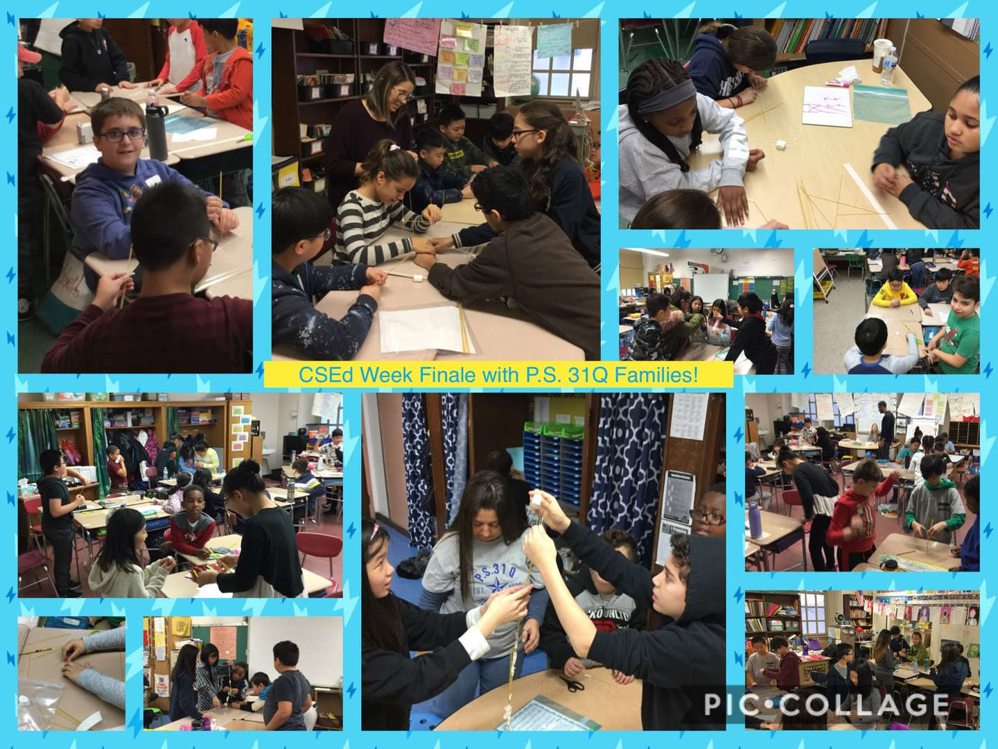 CSED Week Finale, Family Activity Collage 2