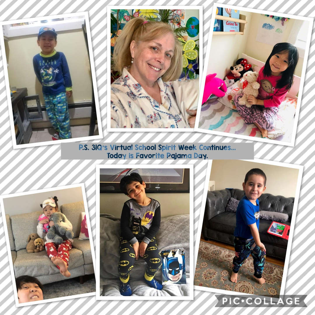 Favorite PJ Day Collage 2 of 4