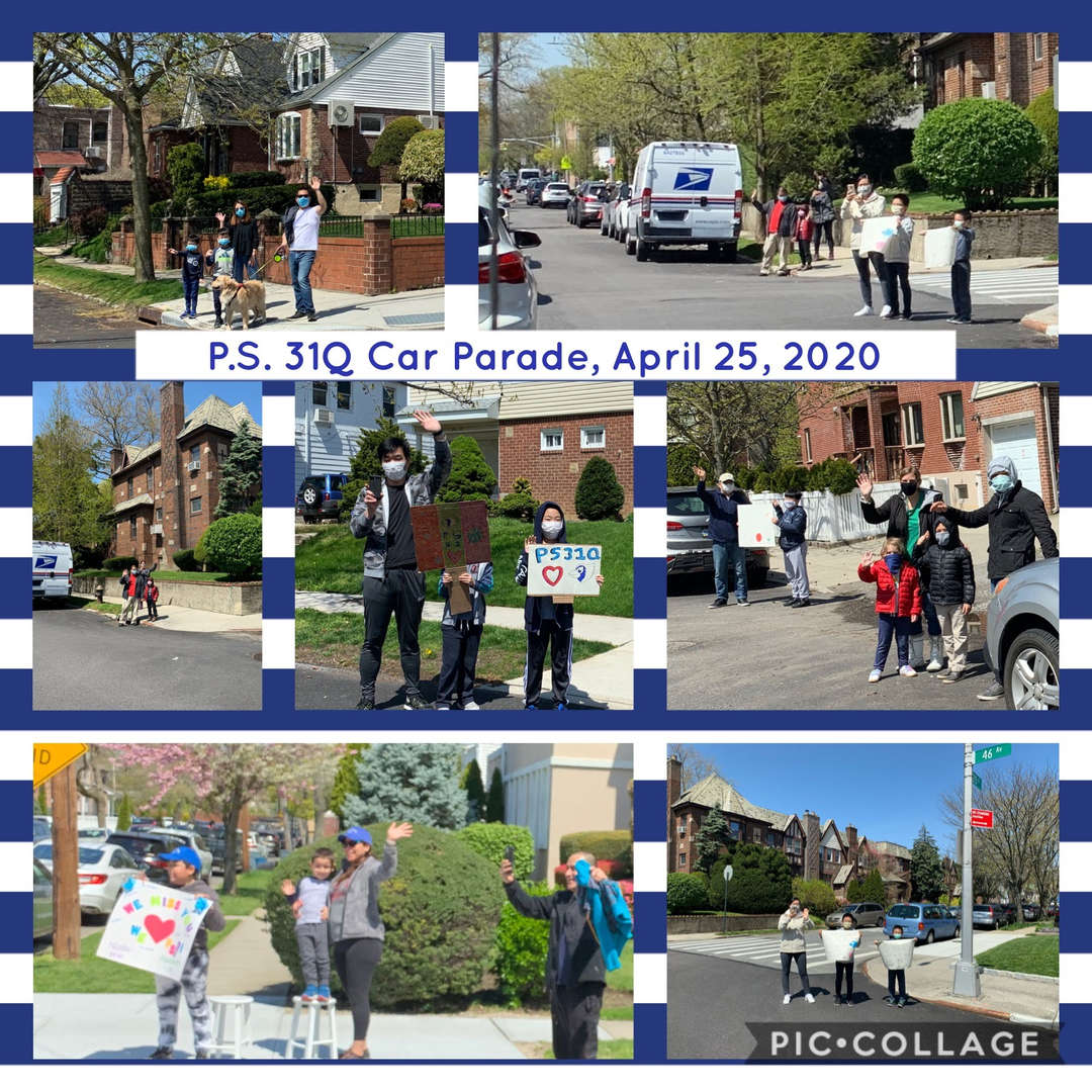 Car Parade Collage 3 of 4