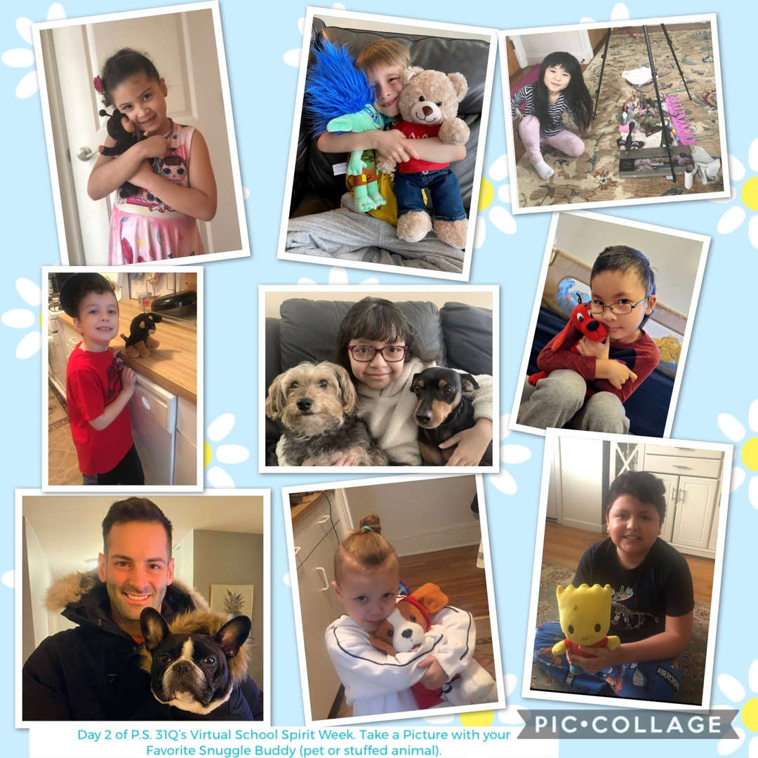 Snuggle Buddy Collage 1 of 7