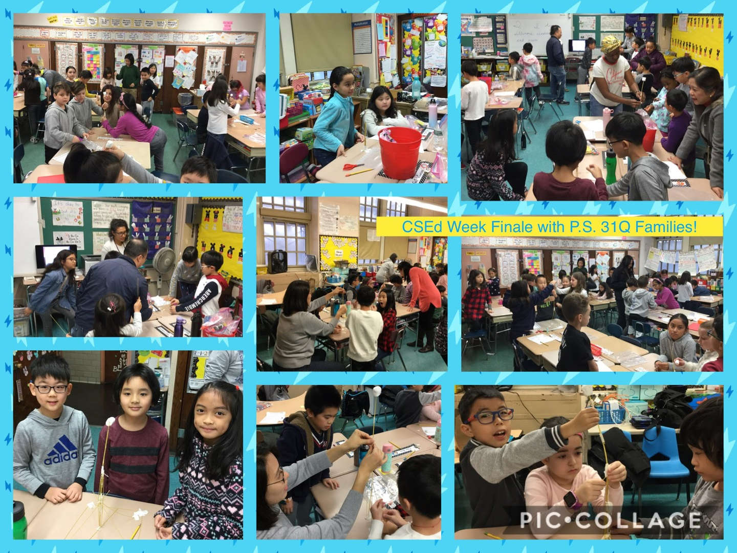 CSED Week Finale, Family Activity Collage 4