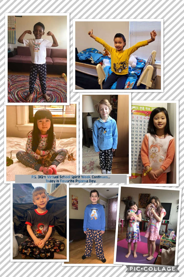 Favorite PJ Day Collage 1 of 4