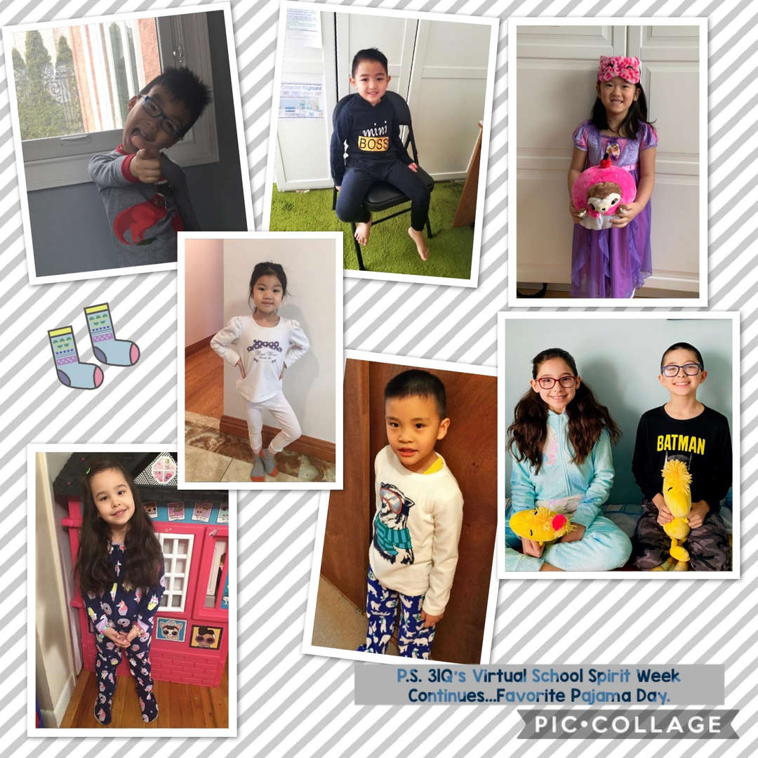 Favorite PJ Day Collage 3 of 4
