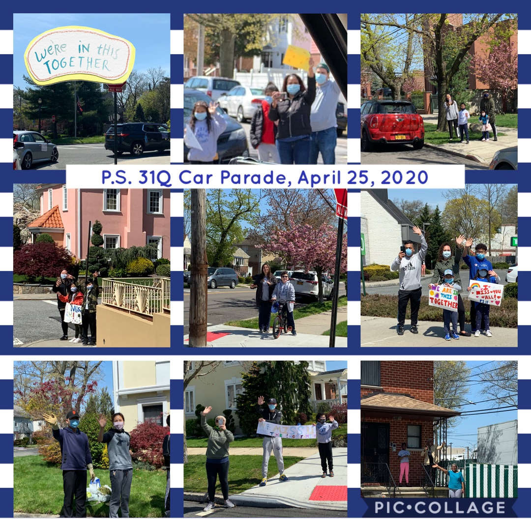 Car Parade Collage 1 of 4