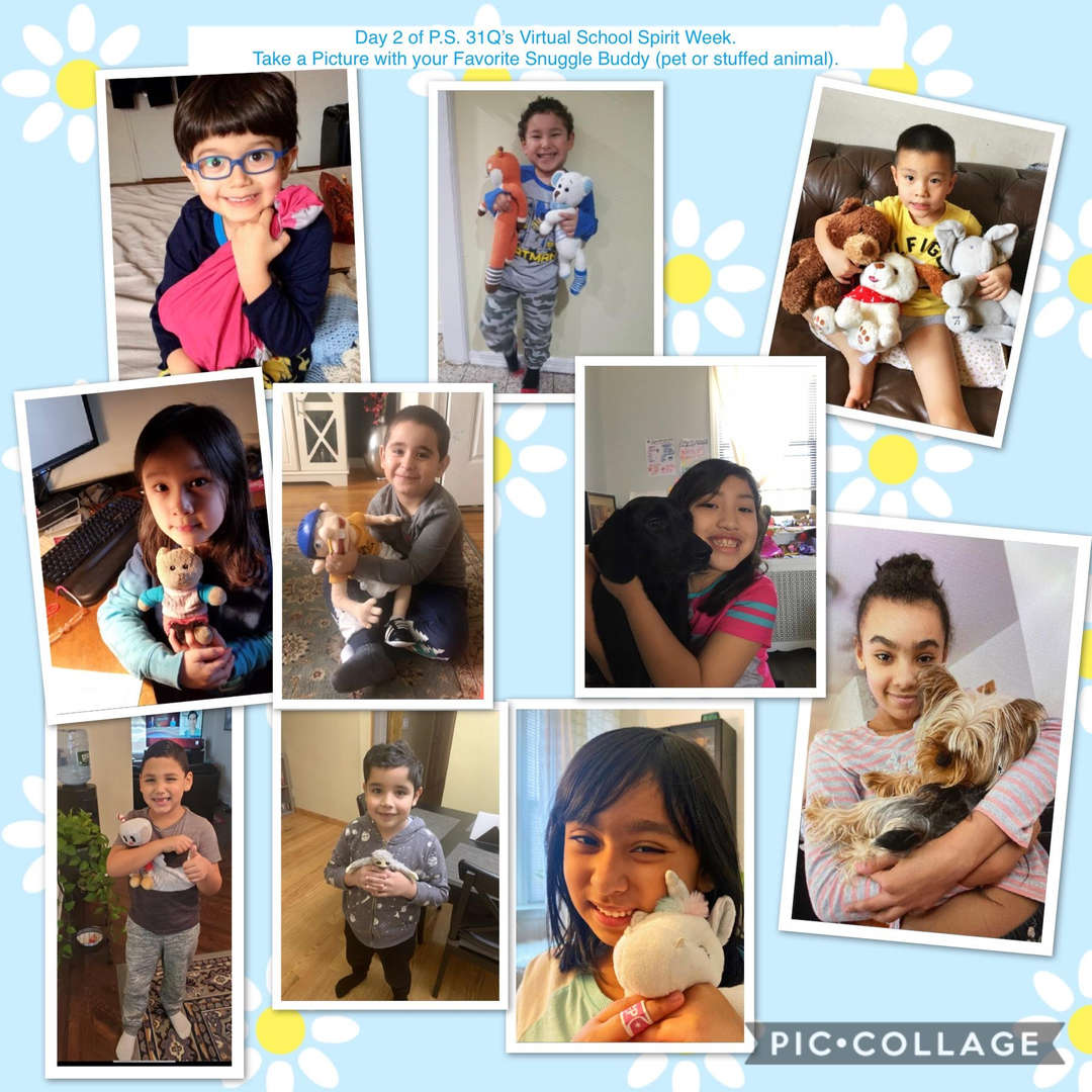 Snuggle Buddy Collage 4 of 7