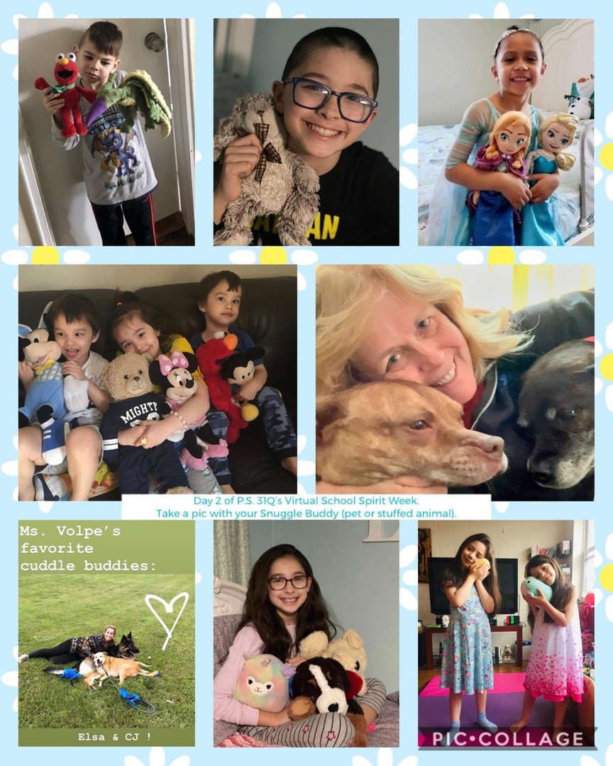 Snuggle Buddy Collage 7 of 7