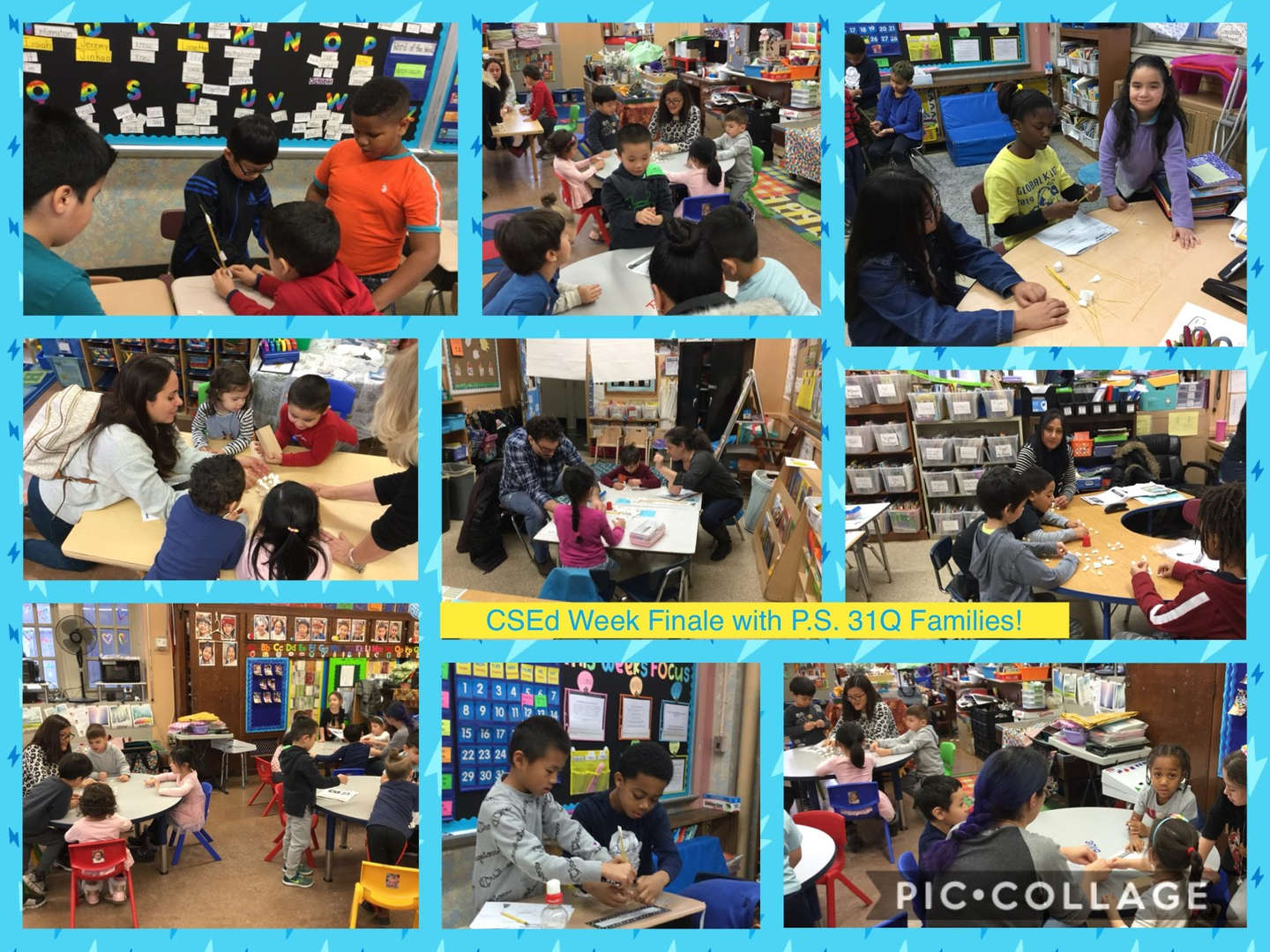 CSED Week Finale, Family Activity Collage 8