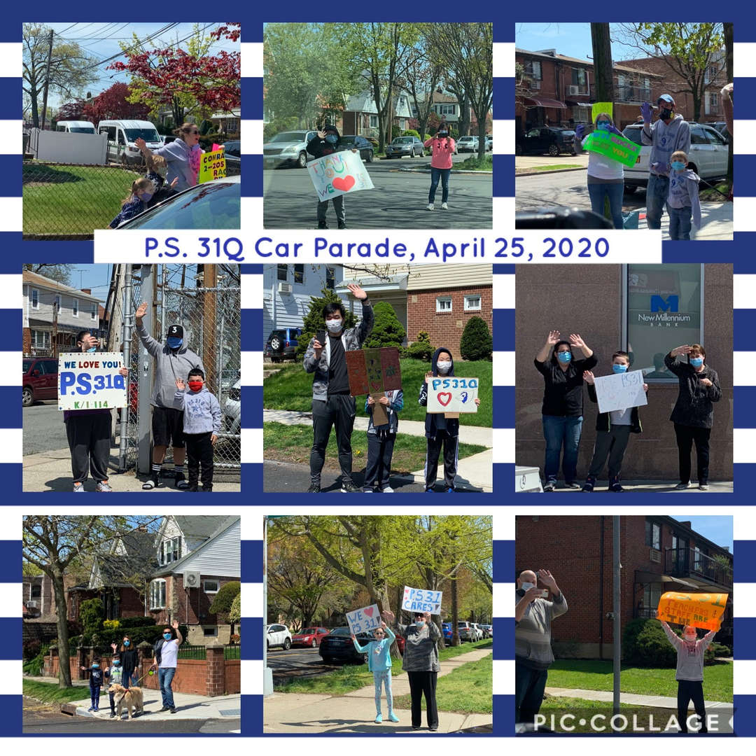 Car Parade Collage 2 of 4