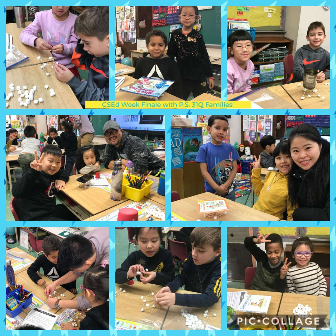 CSED Week Finale, Family Activity Collage 1