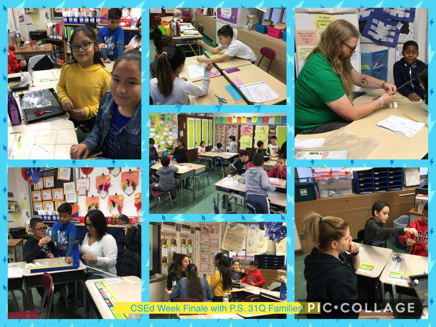 CSED Week Finale, Family Activity Collage 5