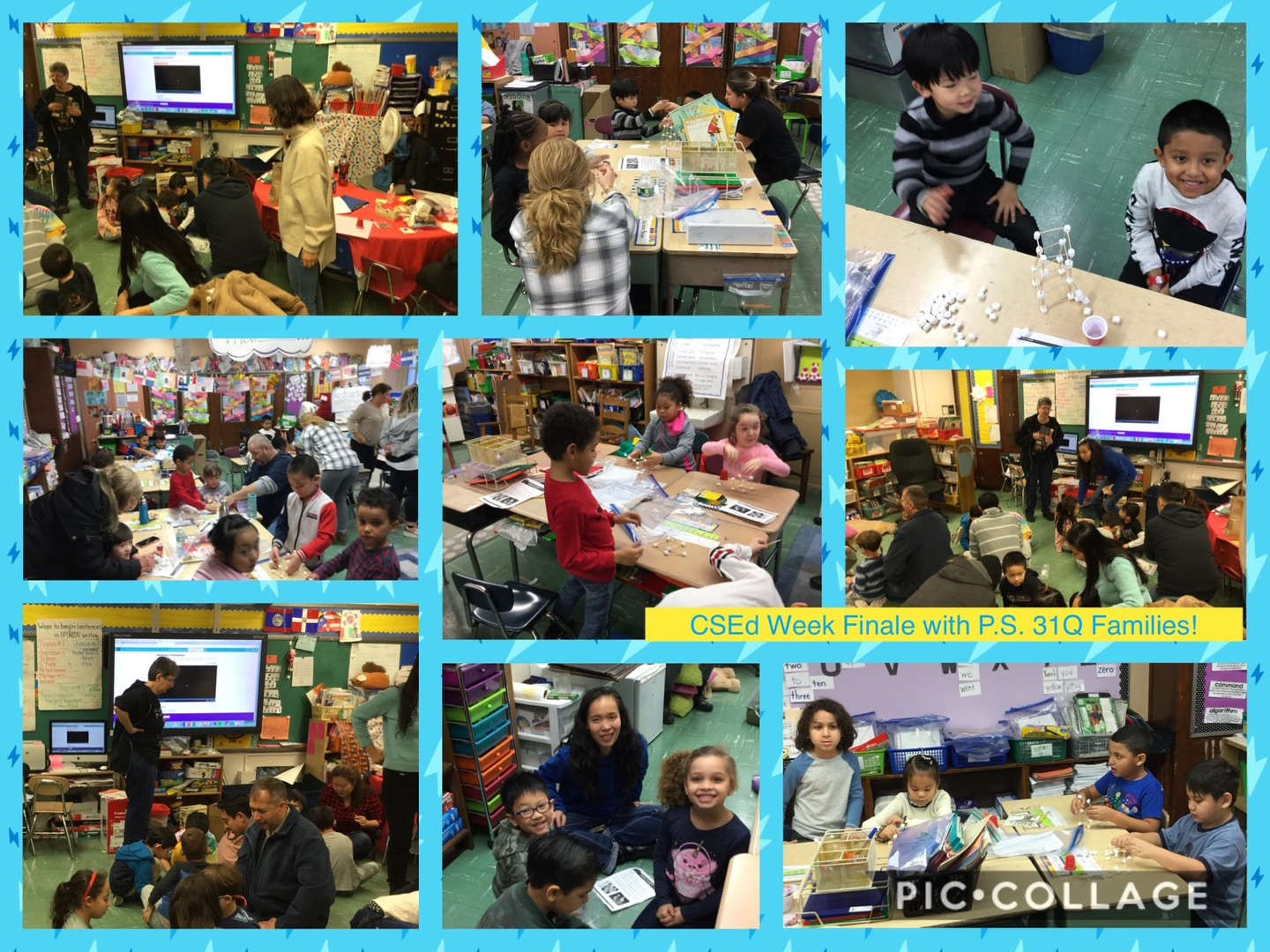 CSED Week Finale, Family Activity Collage 7