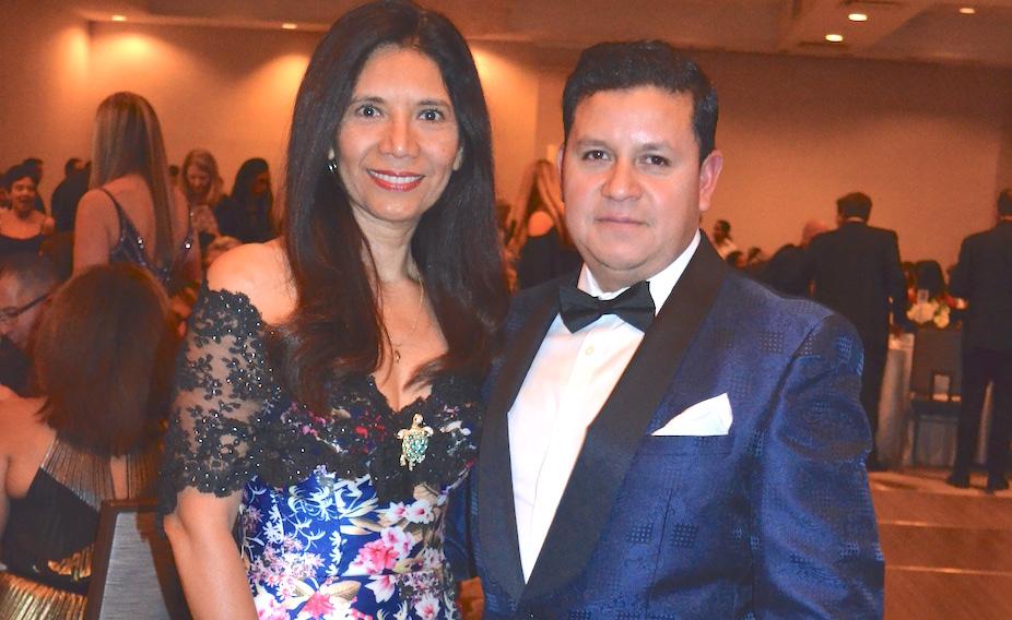El Centro Hispano gala attendees