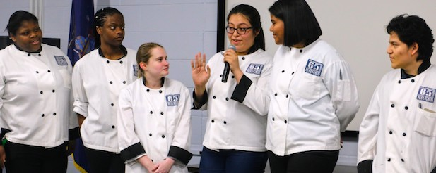 Culinary Students at BOCES Annual Meeting