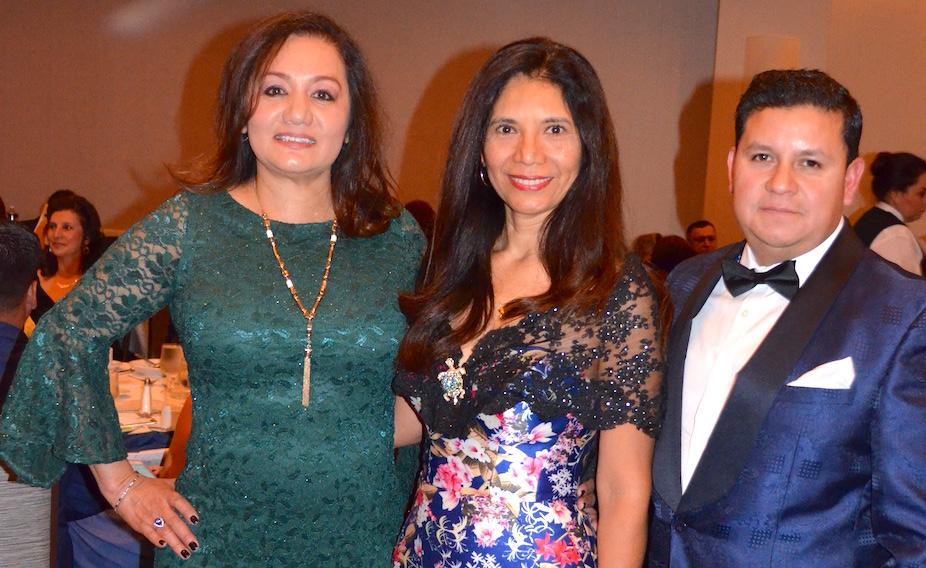 Adult Literacy team leaders at gala