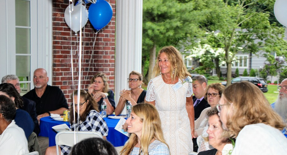 Retiree being honored at annual reception