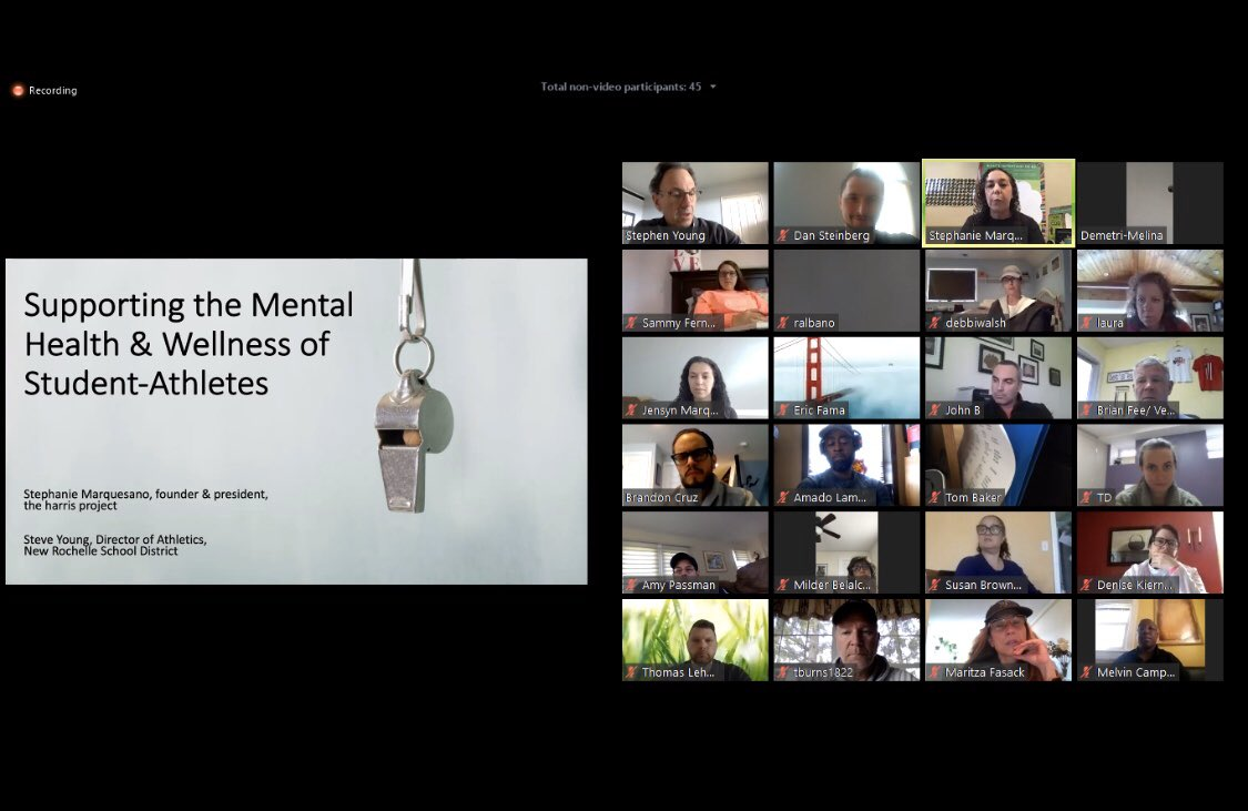 Educators on a Zoom call together