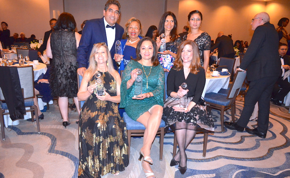 Members of the SWBOCES team at gala