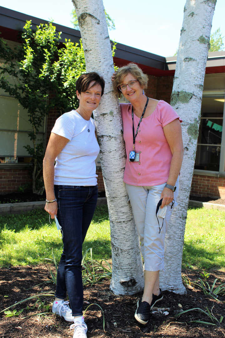 Margaret Pape and Kathy Knudsen retired at the end of the school year.