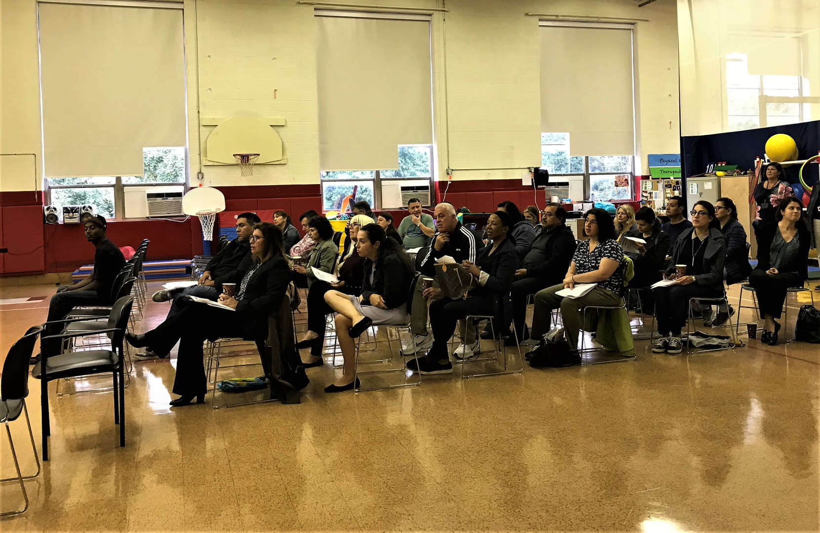 Parents and guardians attended the Tappan Hill School Open House on Oct. 3.