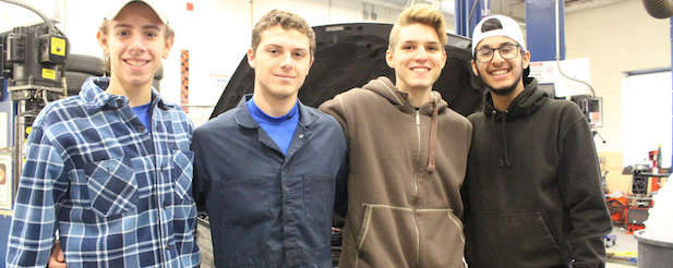 auto tech competition winners