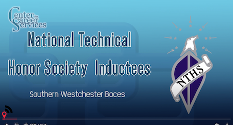 title screen from honor society induction video