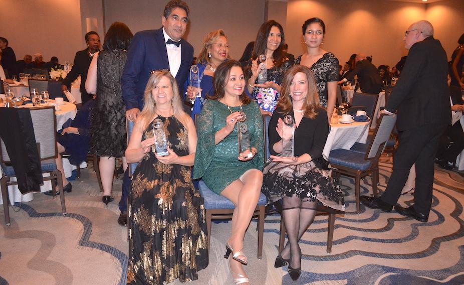 Adult Literacy team at El Centro Hispano gala