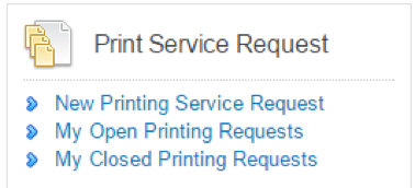 Screenshot- Print Service Request button