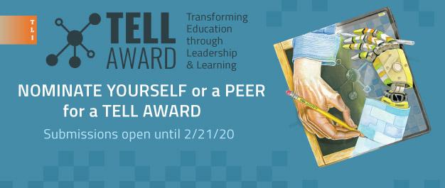 TLI TELL Award Nomination