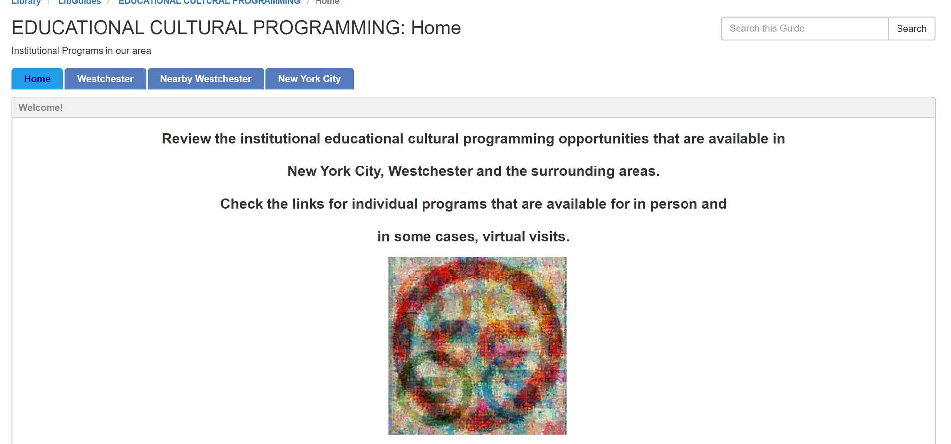 libguides educational cultural
