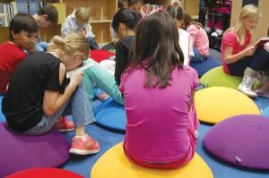 Kaechele Elementary School library