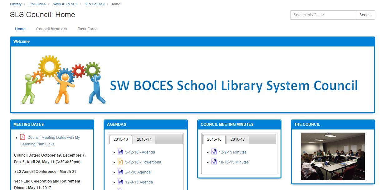 SLS council screenshot