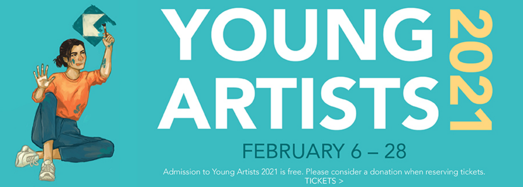 Flyer for art exhibit