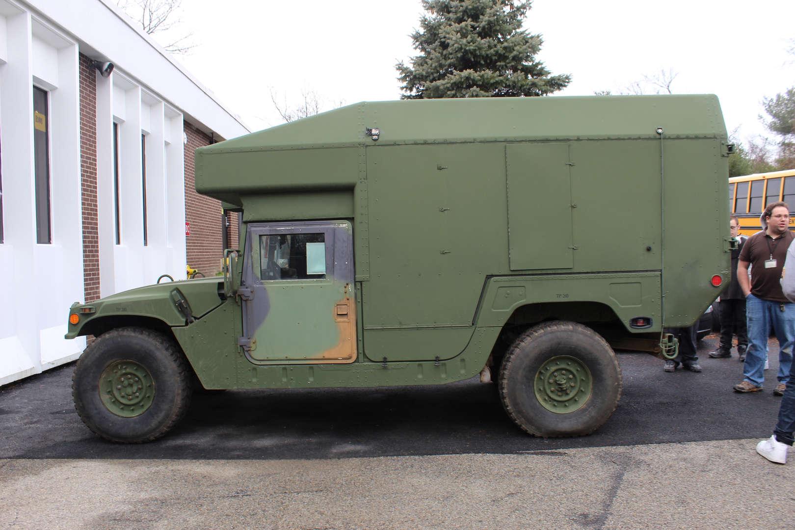 Military Humvee ambulance
