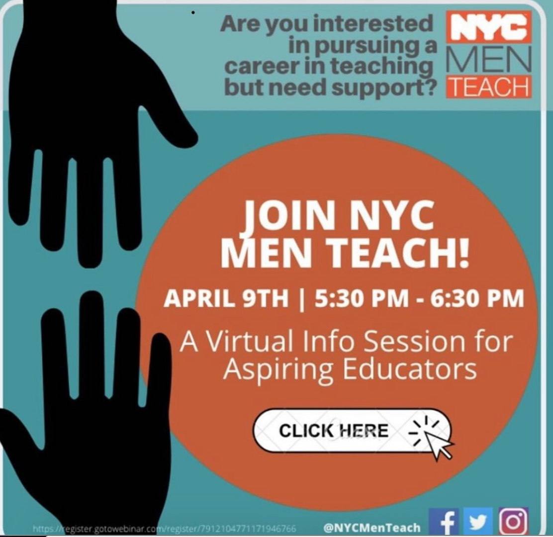 instagram post for virtual teaching job fair