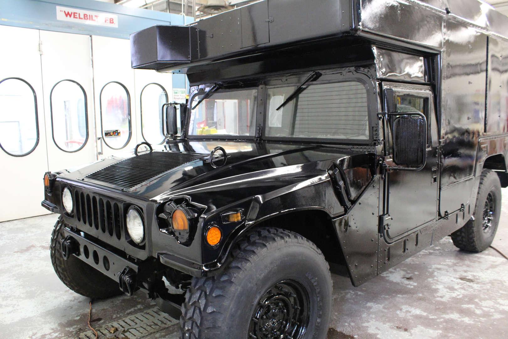 Repainted Humvee