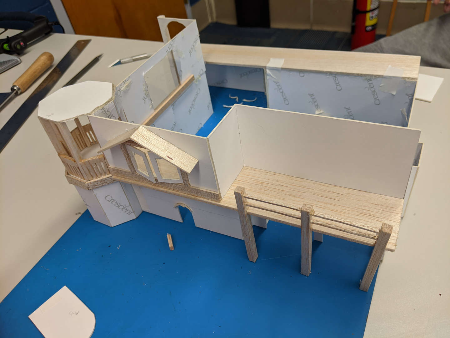 3-D model of a house