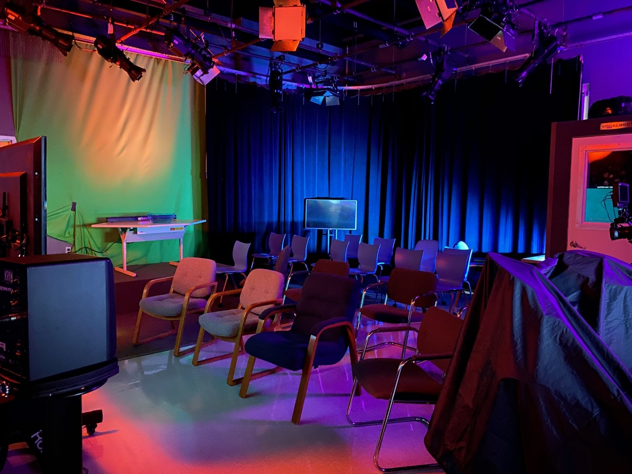 Lighting effects in a classroom