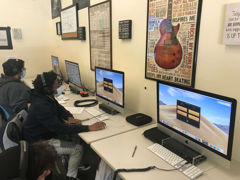 Computer program Quiztones on computer