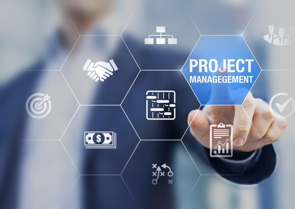 project management course logo