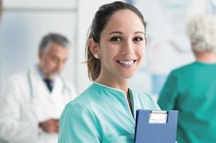 nurse in a medical setting