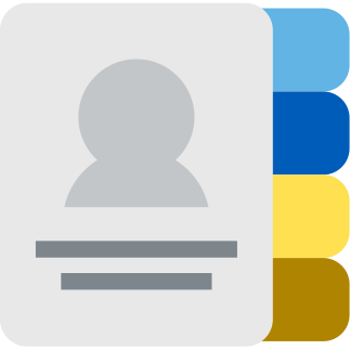 phone book icon