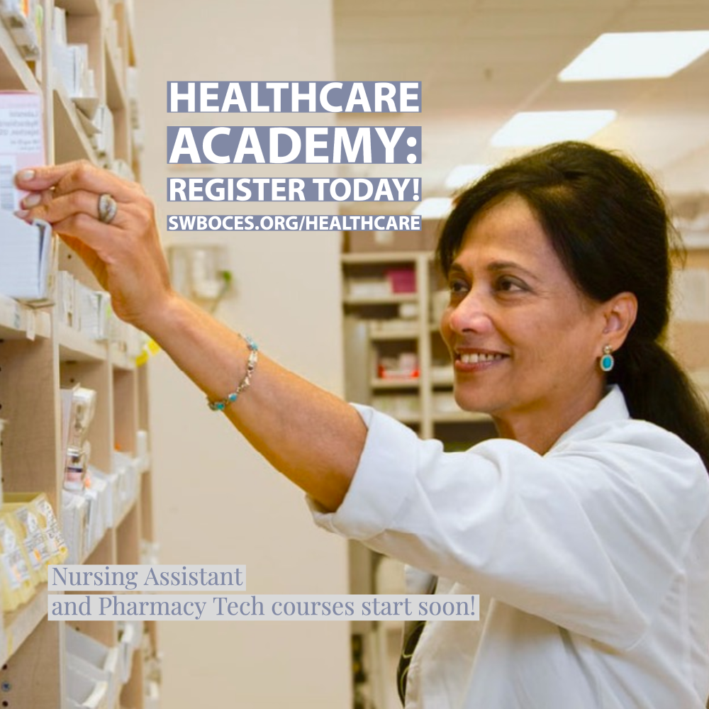 pharmacy technician graphic healthcare academy register today