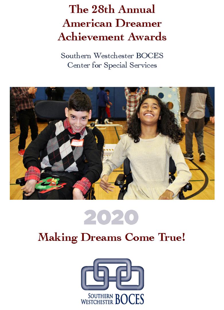 American Dreamer 2020 program cover
