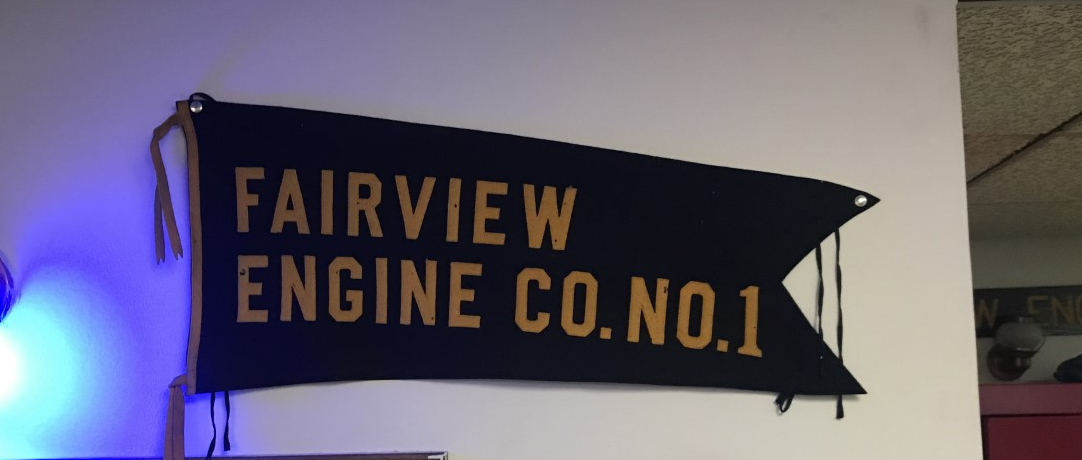 Fairview engine number 1 sign